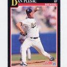 1991 Score Baseball #275 Dan Plesac - Milwaukee Brewers