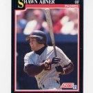 1991 Score Baseball #261 Shawn Abner - San Diego Padres