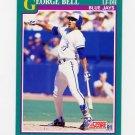 1991 Score Baseball #195 George Bell - Toronto Blue Jays