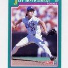 1991 Score Baseball #143 Jeff Montgomery - Kansas City Royals