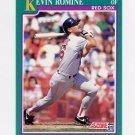 1991 Score Baseball #116 Kevin Romine - Boston Red Sox