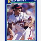 1991 Score Baseball #108 Bryan Harvey - California Angels
