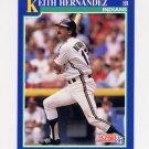 1991 Score Baseball #089 Keith Hernandez - Cleveland Indians