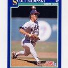 1991 Score Baseball #062 Scott Radinsky - Chicago White Sox