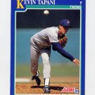 1991 Score Baseball #060 Kevin Tapani - Minnesota Twins
