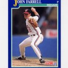 1991 Score Baseball #050 John Farrell - Cleveland Indians