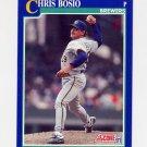 1991 Score Baseball #043 Chris Bosio - Milwaukee Brewers