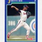 1991 Score Baseball #031 Johnny Ray - California Angels