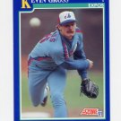 1991 Score Baseball #022 Kevin Gross - Montreal Expos