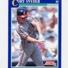 1991 Score Baseball #019 Cory Snyder - Cleveland Indians