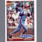 1991 Topps Baseball #773 Tom Foley - Montreal Expos