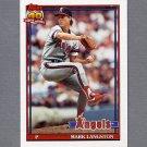 1991 Topps Baseball #755 Mark Langston - California Angels