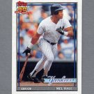 1991 Topps Baseball #738 Mel Hall - New York Yankees