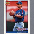 1991 Topps Baseball #734 John Russell - Texas Rangers