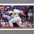 1991 Topps Baseball #720 Cecil Fielder - Detroit Tigers