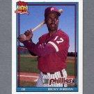 1991 Topps Baseball #712 Ricky Jordan - Philadelphia Phillies