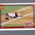 1991 Topps Baseball #672 Shane Mack - Minnesota Twins