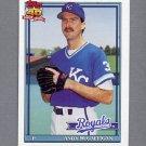 1991 Topps Baseball #671 Andy McGaffigan - Kansas City Royals