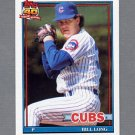 1991 Topps Baseball #668 Bill Long - Chicago Cubs