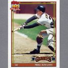 1991 Topps Baseball #657 Mike Kingery - San Francisco Giants