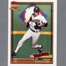 1991 Topps Baseball #650 Jack Clark - San Diego Padres