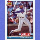 1991 Topps Baseball #640 Andre Dawson - Chicago Cubs