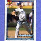 1991 Topps Baseball #619 David Wells - Toronto Blue Jays