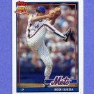 1991 Topps Baseball #601 Bob Ojeda - New York Mets