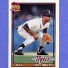 1991 Topps Baseball #583 Tony Phillips - Detroit Tigers