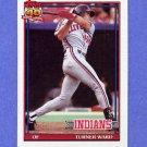 1991 Topps Baseball #555 Turner Ward RC - Cleveland Indians