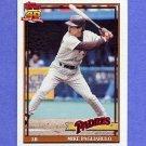 1991 Topps Baseball #547 Mike Pagliarulo - San Diego Padres