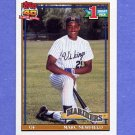 1991 Topps Baseball #529 Marc Newfield RC - Seattle Mariners