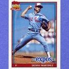 1991 Topps Baseball #528 Dennis Martinez - Montreal Expos