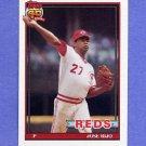 1991 Topps Baseball #493 Jose Rijo - Cincinnati Reds