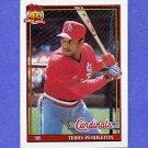 1991 Topps Baseball #485 Terry Pendleton - St. Louis Cardinals