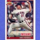 1991 Topps Baseball #445 Greg Swindell - Cleveland Indians