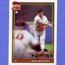 1991 Topps Baseball #422 Rick Reuschel - San Francisco Giants