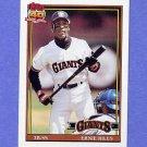 1991 Topps Baseball #408 Earnest Riles - San Francisco Giants NM-M