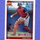 1991 Topps Baseball #375 Tony Pena - Boston Red Sox