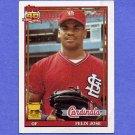 1991 Topps Baseball #368 Felix Jose - St. Louis Cardinals ExMt