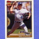 1991 Topps Baseball #365 Mike Schooler - Seattle Mariners