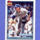 1991 Topps Baseball #348 Todd Stottlemyre - Toronto Blue Jays