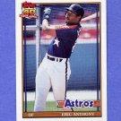 1991 Topps Baseball #331 Eric Anthony - Houston Astros