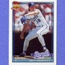 1991 Topps Baseball #280 Bret Saberhagen - Kansas City Royals