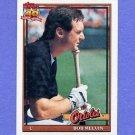 1991 Topps Baseball #249 Bob Melvin - Baltimore Orioles