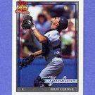 1991 Topps Baseball #237 Rick Cerone - New York Yankees