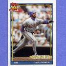 1991 Topps Baseball #235 Dave Parker - Milwaukee Brewers