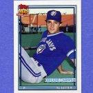 1991 Topps Baseball #233 Al Leiter - Toronto Blue Jays