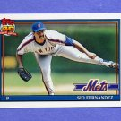 1991 Topps Baseball #230 Sid Fernandez - New York Mets NM-M