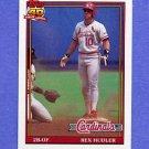 1991 Topps Baseball #228 Rex Hudler - St. Louis Cardinals